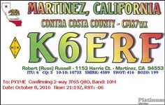 eQSL From K6ERF