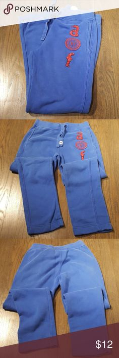 Abercrombie Kids Logo Sweatpants A bit faded but otherwise in excellent condition. Abercombie Kids Bottoms Sweatpants & Joggers