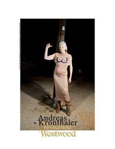 Andreas Kronthaler para Vivienne Westwood SS17 campanha publicitária