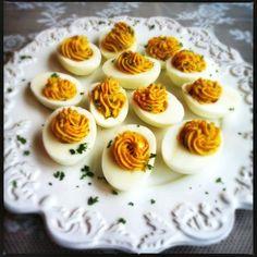 Lekker hapje: gevulde eieren | Made by Ellen