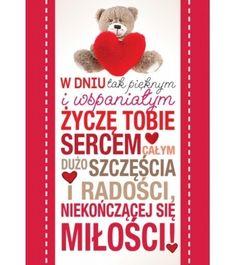 Karnet PP W dniu tak pięknym - 4,05 PLN - Walentynki, love, miłość - Kartki, Karnety - Kukartka.pl