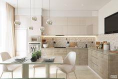 Современная квартира для современной семьи | Студия LESH