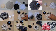 » tutorial Patchwork, crochet, abalorios, fieltro, reciclage y mucho más
