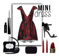 """""""Mini Dress"""" by lastfatima ❤ liked on Polyvore featuring Victoria's Secret, Givenchy, River Island and Miss Selfridge"""