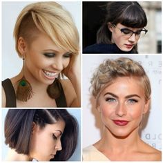 Awesome Short Hairstyles Com Trends