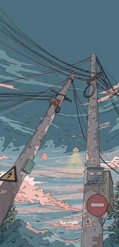Anime Scenery Wallpaper, Cute Anime Wallpaper, Aesthetic Pastel Wallpaper, Cute Cartoon Wallpapers, Pretty Wallpapers, Aesthetic Backgrounds, Animes Wallpapers, Aesthetic Wallpapers, Wallpaper Backgrounds