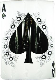 Ace of Spades Inflatable Playing Card  #ace #blackace #aceofspades