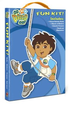 Go Diego, Go! Fun Kit! [With 3 Sheets of Stickers and Crayons and Punch-Out Characters and 3 Activity Books] null http://www.amazon.co.uk/dp/037585228X/ref=cm_sw_r_pi_dp_gq-wub1D3BREG