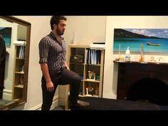McKenzie Method: Hip Internal Rotation - YouTube
