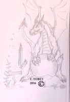 Devils triangle Sketch by CHRIZZTOPHER-TOBEY