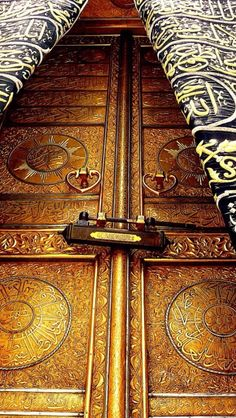 Islam & A stunning close-up of the #KabahDoor #Makkahu2026.#MASHAALLAH ...