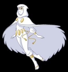 White Raven Redesign by ~wendy-self on deviantART