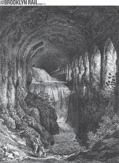 "Johann Christian Reinhart, ""In Villa Mecenate a Tivoli,"" 1794, etching on wove paper, 13.5 x 10"". Image courtesy of CG Boerner."