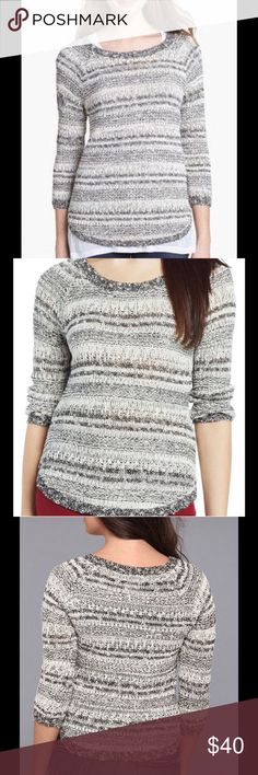 Lucky Women's Medium OPAL Boatneck Sweater NWT LUCKY Brand Black & White Women's Size Medium OPAL Boatneck Sweater featuring 3/4 Length Sleeves. MSRP $99. Perfect worn alone or layering. Bundle &. Save on Shipping. Lucky Brand Sweaters Crew & Scoop Necks