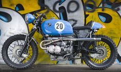 LeMan BMW Scrarmbler by Kevil's photographed by Andrew Butler