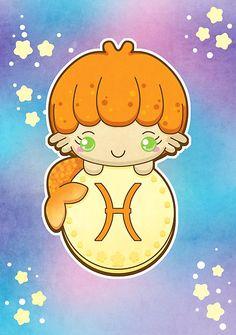 Piscis - Katie White - Kawaii Zodiac
