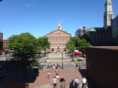 City of Boston in Massachusetts