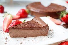 Čokoládový cheescake - výživová poradkyňa Barbora Gamanová Healthy Recipes, Healthy Food, Cornbread, Cheesecake, Pie, Sweets, Cooking, Ethnic Recipes, Desserts