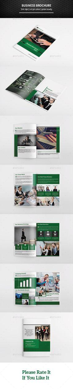 Business Brochure Template #design Download: http://graphicriver.net/item/business-brochure-template/11441932?ref=ksioks