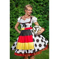 Fan-Kleid, WM 2014, Deutsche Mannschafft, Dirndl.
