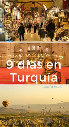Diario de viaje de 9 días en Turquía, con visitas a Estambul y Capadocia. Travel Vlog, Travel Tours, Travel List, Travel Guides, Travel Destinations, Places To Travel, Places To Go, Istanbul Travel, Gap Year