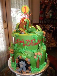 Kayden's !st Birthday — Children's Birthday Cakes