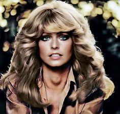 Farrah Fawcett that hair