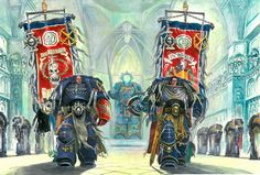 Captains of the 3rd and 4th company by SprigganE