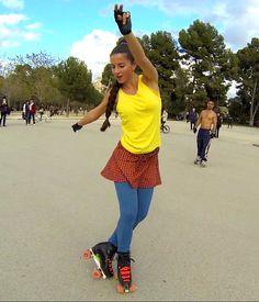 ¿Quieres aprender a bailar sobre patines? En Tres60 puedes hacerlo, cursos de RollerDance en Madrid. Divertidísimos!