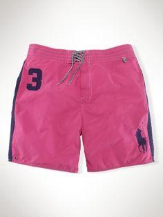"""Ralph Lauren - 7"""" Swim Trunk $69.50 :)"""