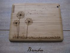 Ipad 3 case  wooden cases walnut or bamboo by CreativeUseofTech, $65.00