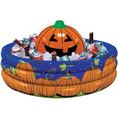 Inflatable drink cooler/candy