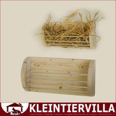 Wandraufe Alu Holz Heuraufe Holz Meerschweinchen Kaninchen Neu Aluminium | eBay