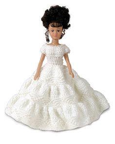 Celebration Doll - http://web.archive.org/web/20071226050209/http://www.fibrecraft.com/dofun/dollsbears/crochet/celebration_doll.asp