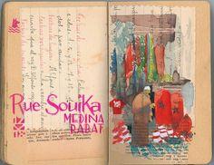 Souika Street, Medina,Rabat, Urumo.