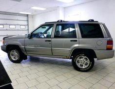 1998 Jeep Grand Cherokee Limited SUV for under $1000 dollars in Nebraska