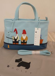 a fun Radley signature bag.....Lori and I gone fishin'