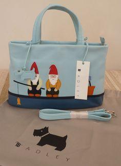 a fun Radley signature bag.Lori and I gone fishin' Radley Bags, London Bags, Annex, Scottie, Beautiful Bags, Gnomes, Scarfs, Diaper Bag, Baskets