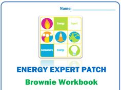 FREE Girl Scout Patches for completing workbook about energy conservation, electric & gas safety and energy careers.