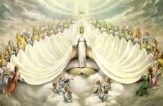 Mary, Queen of Heaven, pray for us.This page has an extensive list of the many, many titles of the Blessed Virgin Mary. Catholic Art, Catholic Saints, Religious Art, Roman Catholic, Catholic Religion, Blessed Mother Mary, Blessed Virgin Mary, Queen Mother, Ave Maris Stella