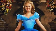 Lily james in Cinderella - her makeup at the ball was stunning!!!