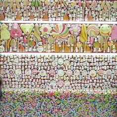 Candy Store window Madrid
