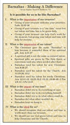 Making A Difference.jpg Barnabas' role in Early Church Bible Study Notebook, Bible Study Tools, Scripture Study, Bible Notes, Bible Scriptures, Beautiful Words, Bible Knowledge, Life Quotes Love, Bible Teachings