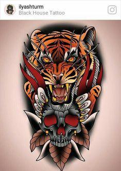 US SELLER, Halloween tiger skull big tempoary tattoo face decor sexy Neo Tattoo, Tattoo Drawings, Chest Tattoo, Japanese Tattoo Art, Japanese Sleeve Tattoos, Fake Tattoos, Body Art Tattoos, Tattoo Gesicht, Dragon Oriental