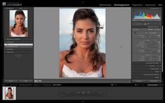 video retouche photo portrait