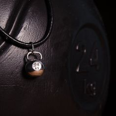 Silver kettlebell pendant. Silver kettlebell pendant – is a symbol of self-reliance.
