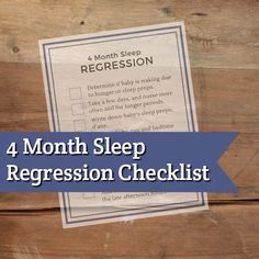 If you find yourself in a 4 month sleep regression then I've got the tools to help you get out of it as fast as you can.