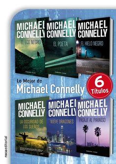 Michael Connelly es considerado por la crítica especializada uno de los mejores escritores vivos de novela negra. Roca Editorial reúne por primera vez, las seis novelas esenciales de su reconocida trayectoria literaria. Descúbrelas en 24Symbols