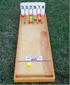 Ball Board Carnival Game