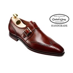 Chadwick 2 Chesnut Calf Single Monk Strap | Crockett & Jones